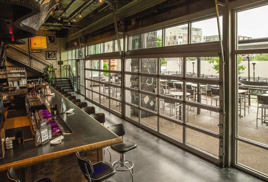 Our Favorite Uses For Glass Doors On Restaurants Overhead Door
